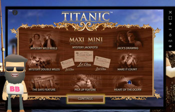 enarmad bandit titanic